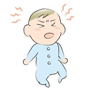 赤ちゃんの急な不機嫌には要注意!